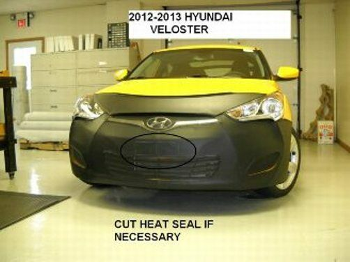 Lebra Front End Mask Cover Bra Fits 2012-2017 Hyundai Veloster