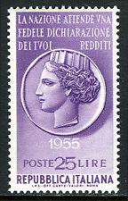 "Italy 691, MNH. Propoganda for the payment of taxes. ""Italia"", 1955"