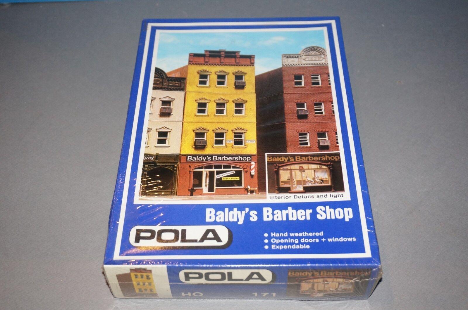 RF-13 Rarität Pola H0 Baldy´s Barber Shop No.171 - ungebaut -OVP- in Folie