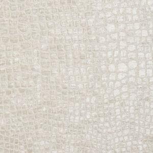 A0151e Off White Textured Alligator Woven Velvet Upholstery Fabric