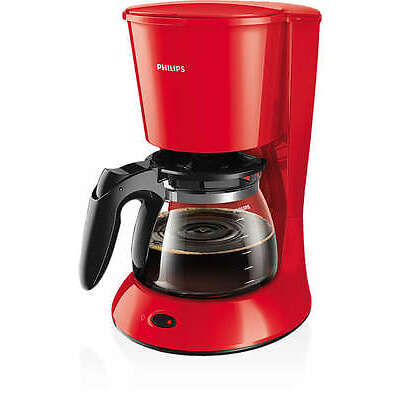 PHILIPS Daily Collection HD7447/40 Kaffeemaschine 1,2L rot 1000W