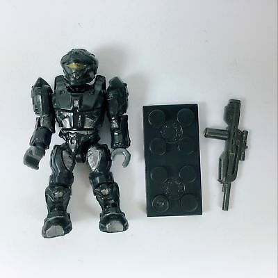 5pcs Mega HALO Black RECON Spartan blocks unsc elephant construx Action Figure