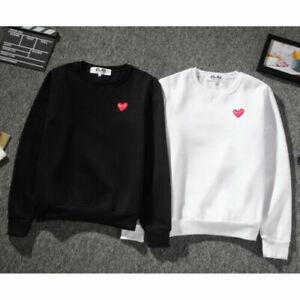 2019-Men-039-s-Comme-Des-Garcons-CDG-Play-Hoodie-Red-heart-Sweater-Play-Women-039-s-Coat
