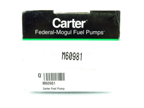 NEW Carter Mechanical Fuel Pump M60981 Chevy II Impala Malibu Bel Air 1962-1968