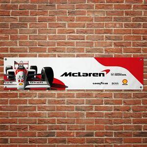 Ayrton-Senna-F1-Banner-Garage-Workshop-PVC-Sign-Track-F1-Motorsport-Display