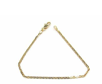 New 9 CT  Gold Filled  Bismark  Bracelet with Bar  For Lady  B30