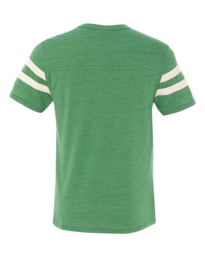 Alternative Apparel Men/'s S-2XL Eco Jersey Football Short Sleeve T-shirt 12150