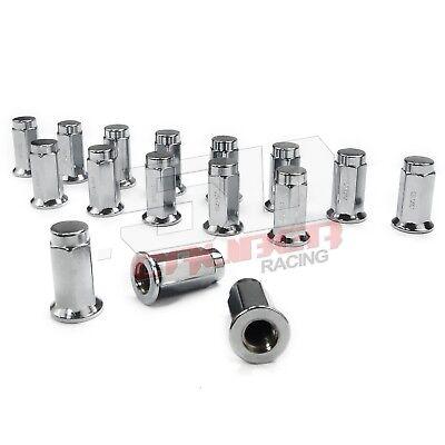 RAD Parts 16 Black 10x1.25MM ATV Lug Nuts for Kawasaki Arctic Cat Yamaha Suzuki Honda