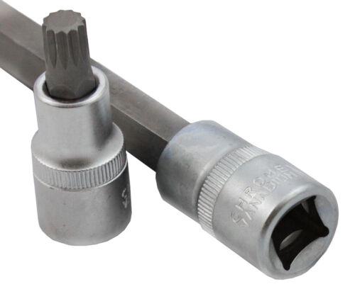 BIT-SPLIN-26-FT Innen Vielzahn Nüsse Torx Werkzeug Set Nuß Steckschlüssel Satz