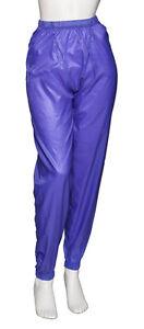 Ladies Girls Purple Dance Nylon Ripstop Warm Up Sweat Pants By ... 2bf7812e9