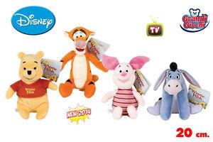 Winnie The Pooh seduta amici And Tigger GRANDE PELUCHE