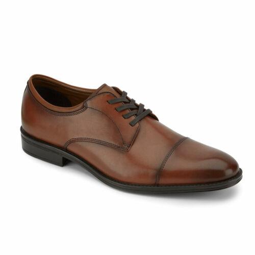 Dockers Mens Pierdon Genuine Leather Lace-up Cap Toe Oxford Dress Shoe