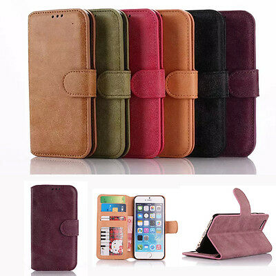 Flip New Wallet PU Leather Phone Card Holder Stand Luxury Case Cover For iPhone