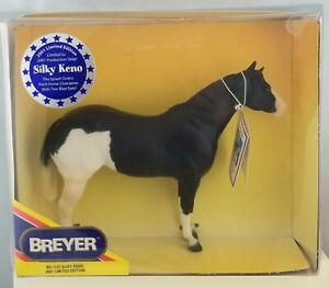 Breyer-SIGNED-1127-Silky-Keno-Splash-Pinto-Lady-Phase-Model-Horse-NIB