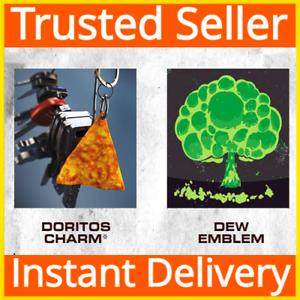 Call of Duty Black Ops Cold War / Doritos Weapon Charm & Mountain Dew Emblem DLC
