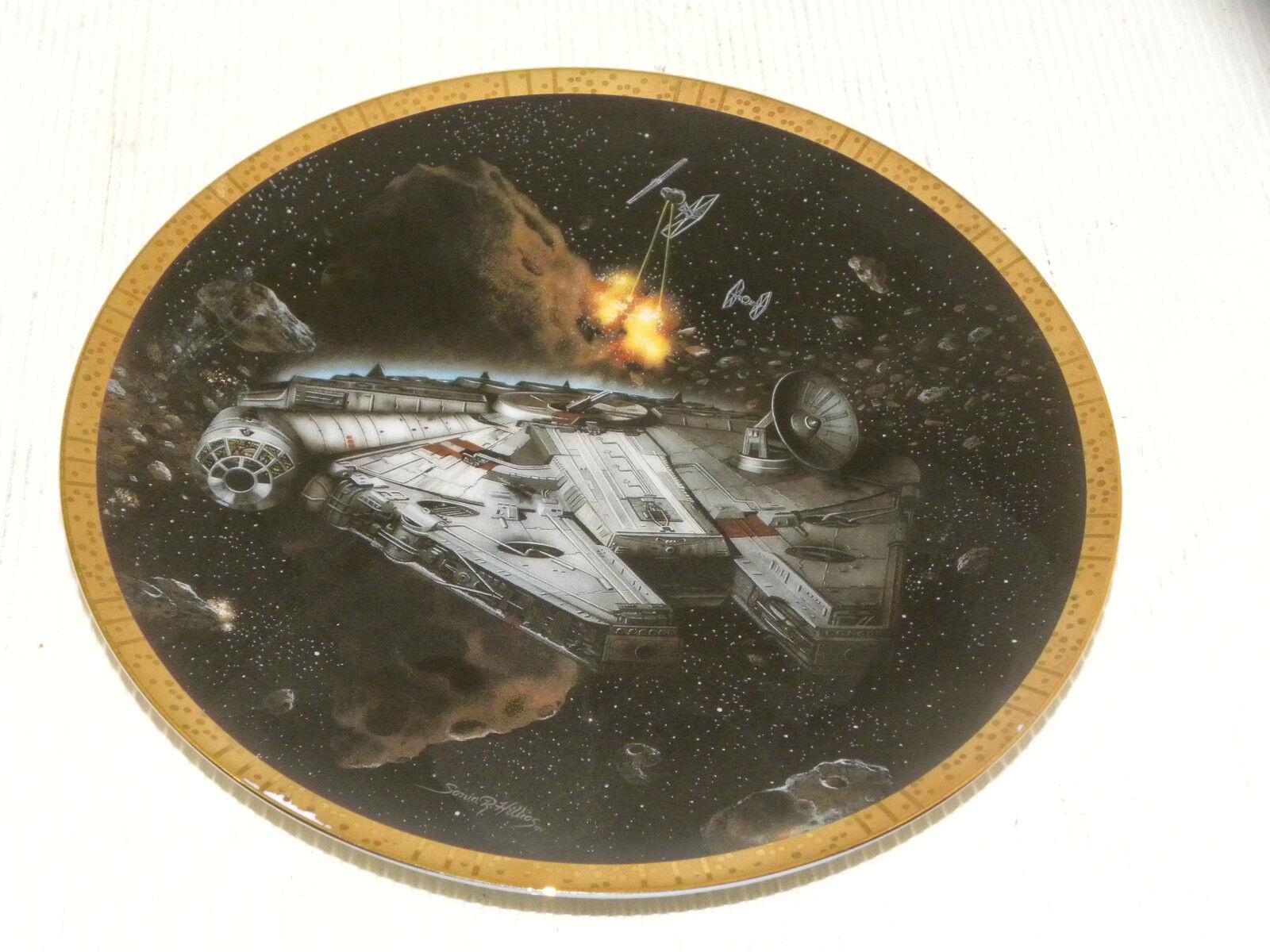Star - wars - hamilton sammlung 1995 millennium - falken.slave - i - star zerstörer