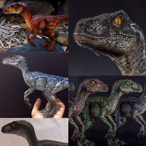 Jurassic-Park-inspired-Raptor-Model-kit-Screen-Accurate-Detail-7-034-X16-034-3D-Printed