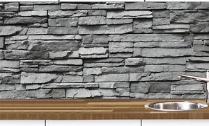 Fantastisch Das Bild Wird Geladen 1a Kuechennischen Deko SET Wand  Kuechen Spritzschutz Wandschutz
