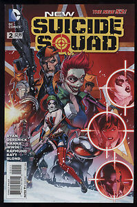 DC, AUG 2015 THE NEW 52 NEW SUICIDE SQUAD #9 JOKER VARIANT 1st PRINT NM,