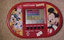 Mickey Mouse Yahtzee Jr. Electronic Hand-Held game, Hasbro 2000, 2 AAA batteries