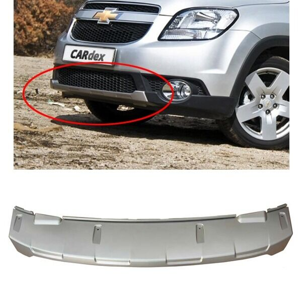 Silver Front Bumper Lower Cover For Gm Chevrolet Orlando 2011 2013