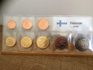 Série UNC 8 pièces Finlande 2006