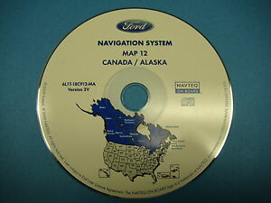 Image Is Loading Ford Navigation Cd Map 12 Ak Canada 2005