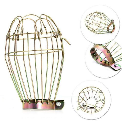 Home Ba Metal Bulb Guard Lamp Light Cage Hanging Industrial Pendant New Type