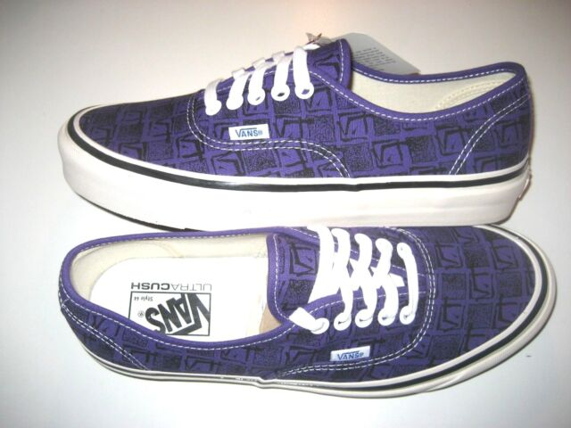 billiga priser nya utgåvan klassisk Vans Mens Authentic 44 DX Anaheim Factory Og Brig Purple Skate ...