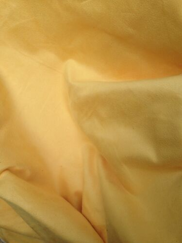 Curtain Fabric Sunshine Yellow Faux Suede Designer 10 Mts