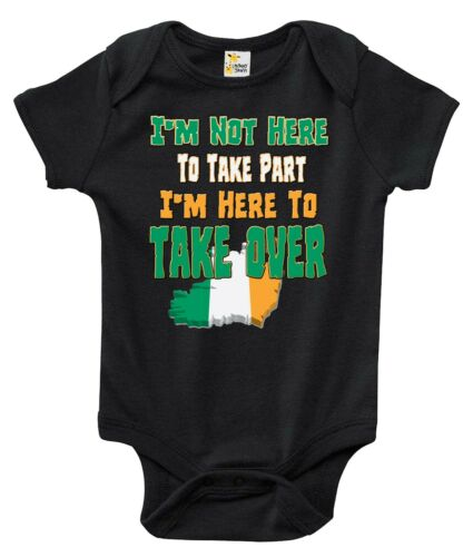 Baby Bodysuit I/'m Here to Take Over Conor McGregor Baby Clothes for Infants