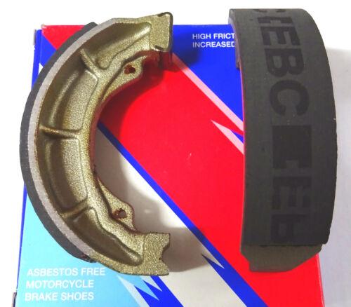 MZ//MUZ ETZ 150 1985-91 EBC Bremsbacken brake shoes vorne ohne Feder 979