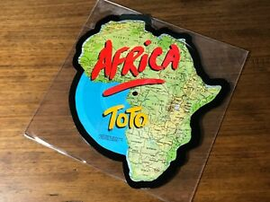 Toto Shaped Picture Disc Africa We Made It 1982 Ebay