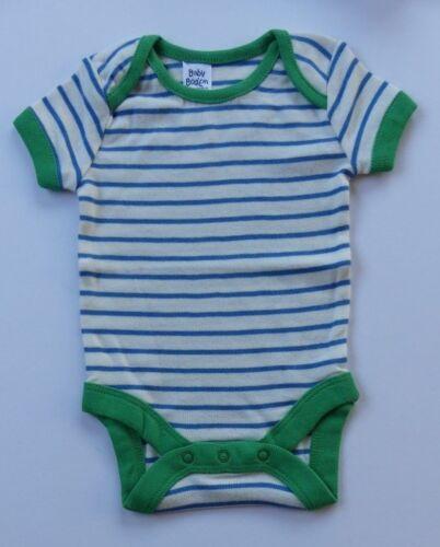 Baby Boden 3er-pack Schmale Streifen Westen Body Körper Kurzärmlig Bnwot