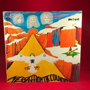 THE-MOVE-Message-From-The-Country-1971-UK-vinyl-LP-EXCELLENT-CONDITION-original