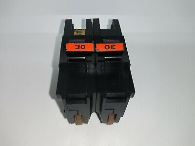 Federal Pacific FPE Stab-Lok Breaker 2 Pole 30 Amp 240V Thick Free Ship today!