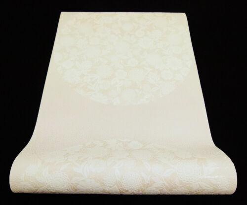 1309-14-4-PR edle Vliestapete schicke Design Tapete in weiß und hellbeige