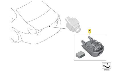 Adapterkabel für die Nachrüstung der Original VW FBAS Rückfahrkamera
