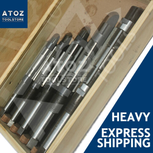 """5 Pieces Set ADJUSTABLE HAND REAMER H12 to H16  Capacity 1.1//16/"""" 2.7//32/"""" New"""