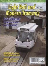 LIGHT RAIL AND MODERN TRAMWAY MAGAZINE - May 1997 - Vol. 60 - No. 713