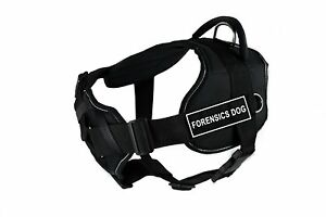 Dean-amp-Tyler-Fun-Works-Forensics-Dog-Harness-with-Padded-Chest-Piece-Small