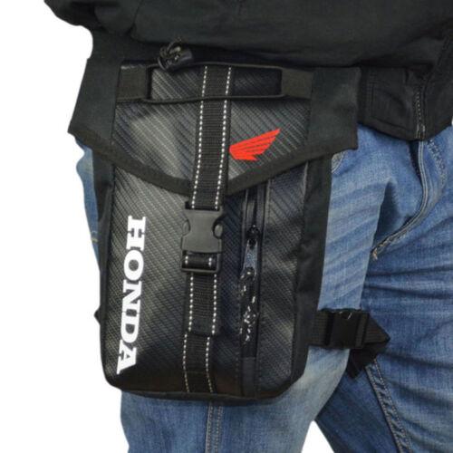 Men Oxford Drop Leg Bag Motorcycle Cycling Fanny Waist Pack Thigh Hip Bum Pouch