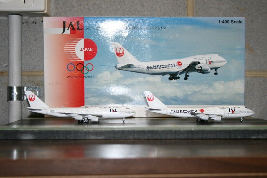 BigBird Big Bird 1 400 JAL Japan Airlines Boeing 747-400 JA8915 & JA8084 2004-06
