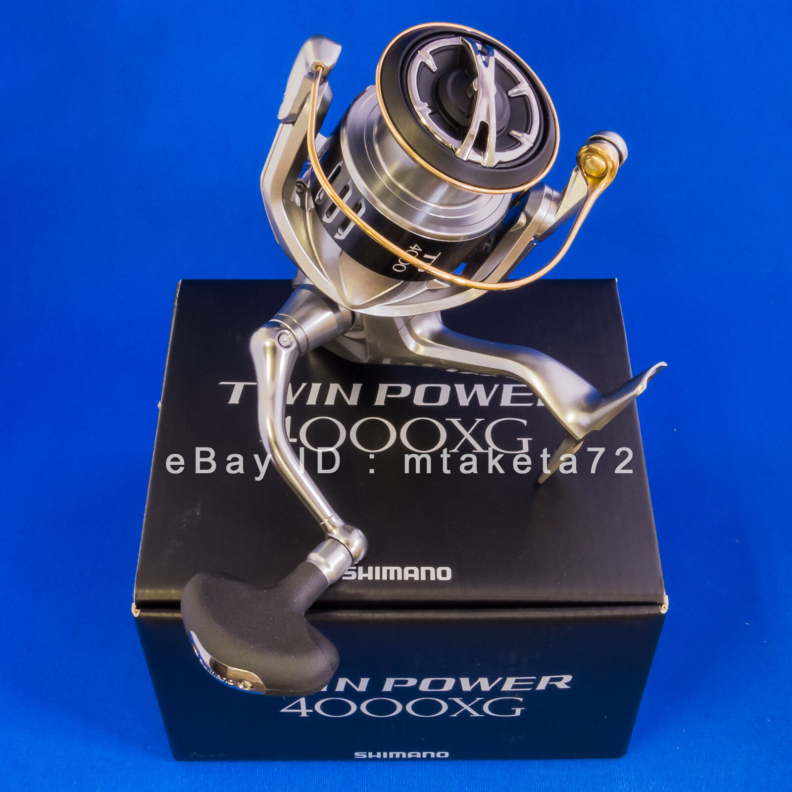 Shimano 15 TWIN POWER 4000XG, Spinning Reel Made In Japan, 033734