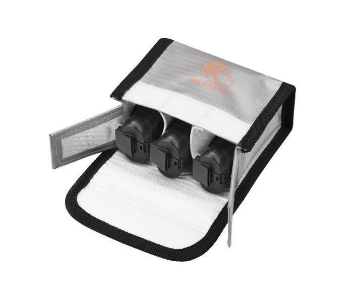 Silver Battery Safe for DJI Mavic MINI / Mavic MINI 2 / MINI SE (3 Batteries) #M