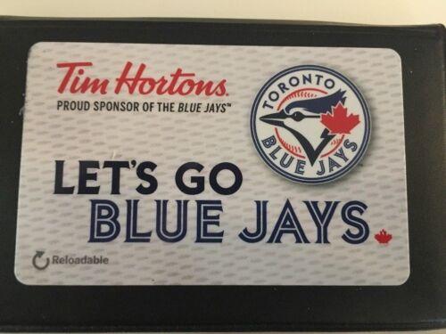 Toronto Blue Jays 2018 Tim Hortons Let/'s Go Blue Jays Tim Card FD-61194 MINT