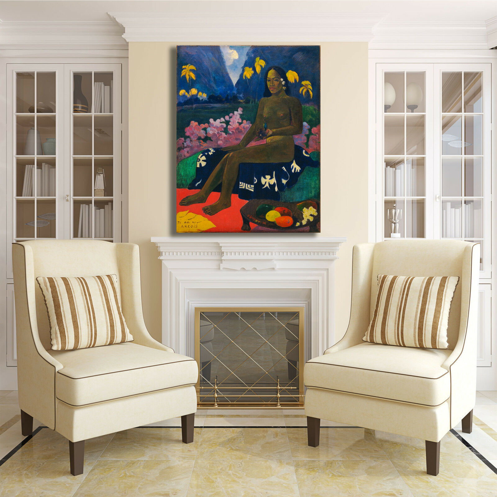 Gauguin seme seme seme di Areoi design quadro stampa tela dipinto telaio arRouge o casa | Soldes  729b90