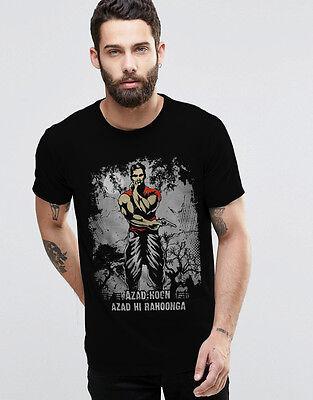 AZAD HOON  High Quality Premium Printed Round Neck T-Shirt -100% Cotton
