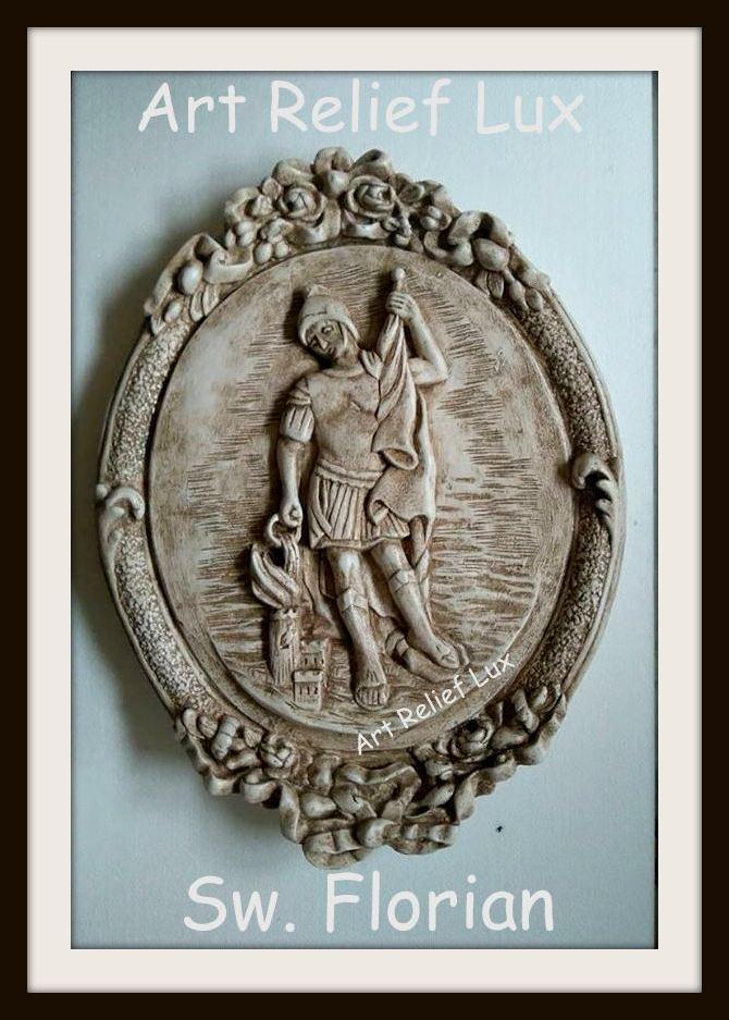 St. florian muro parojo relieve imagen yeso bajorrelieve mitología griega Antik