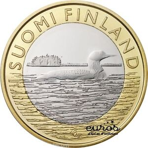 5-EURO-COMMEMORATIVE-FINLANDE-2014-Animals-of-the-provinces-Savonia